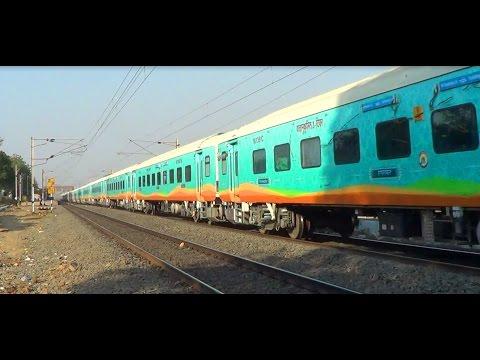 INAUGURATION Run of 14715 Sri Ganganagar Tiruchchirappalli HumSafar Express