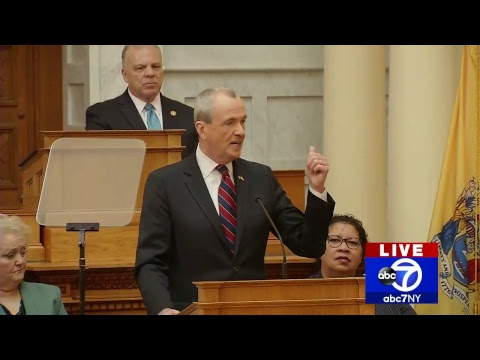 NJ Gov. Phil Murphy budget address