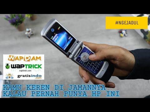 HP Desain Lipat TerKEREN Di Jamannya - DUAL Layar 🤩 Motorola KRZR K1 Indonesia