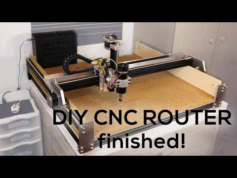 Custom DIY CNC ROUTER #4 It's FINISHED!