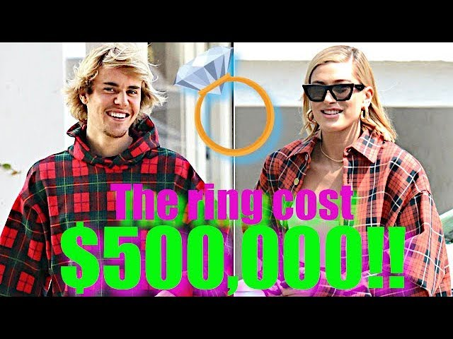 Justin Bieber Drops $500k On Fiancee Hailey Baldwin's Engagement Ring!