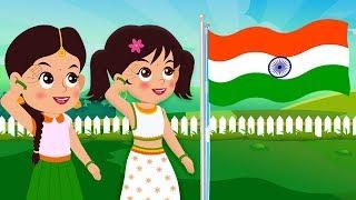 Desh Mere Desh | Hindi Nursery Rhymes | Happy Independence Day | desh bhakti geet | देश मेरे देश