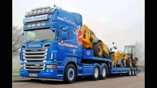Обзор фото, Автомобили для перевозок на большие расстояния марки Scania