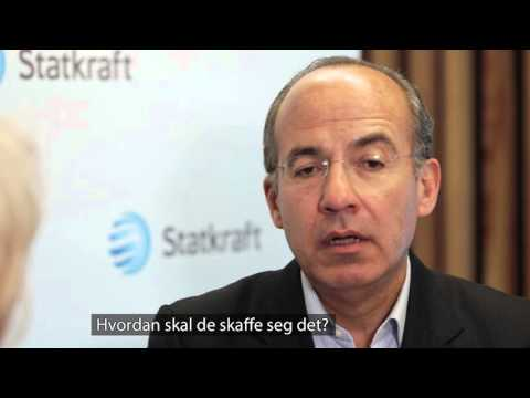 Climate Roundtable interview with Felipe Calderón