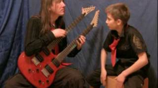 MUPPET SHOW theme guitar & cajon version
