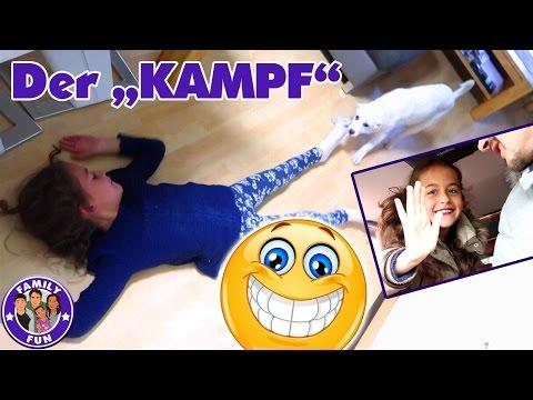 KAMPF ZWISCHEN MILEY UND WELPE Vlog #71 Our life FAMILY FUN