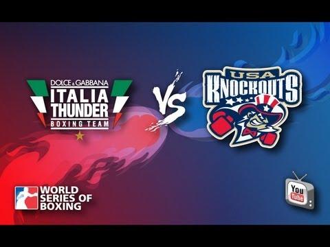Dolce & Gabbana Italia Thunder - USA Knockouts - Week 5 - WSB Season 3