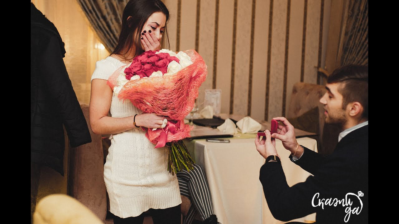 Сделать оригинальное предложение девушке руки и сердца