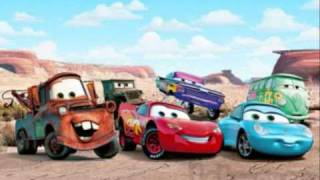 John Mayer - Route 66 [With Lyrics] (Disney Cars Soundtrack)