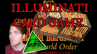 4K THE ILLUMINATI CARD GAME SET - NEW WORLD ORDER ONE WITH EVERYTHING