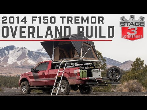 Stage 3 Motorsports 2014 F150 Tremor Overland Project truck