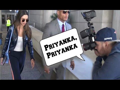 Deepika Padukone Mistaken For Priyanka Chopra By International Media At LA Airport!