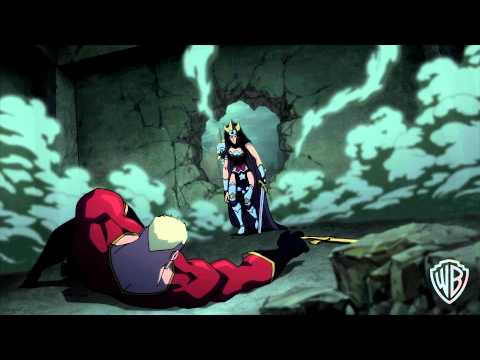 """Justice League: The Flashpoint Paradox - """"A Warning"""""""
