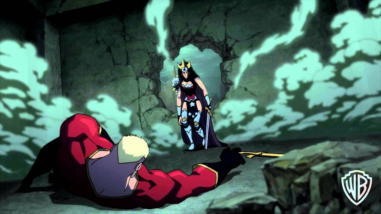 """Download Justice League: The Flashpoint Paradox - """"A Warning"""""""