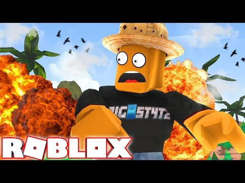SURVIVING SUPER BOMBS IN ROBLOX!!!