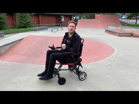 LITH-TECH CARBON EDITION skate park demo!