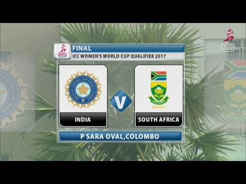 India v South Africa, Final - ICC Women's World Cup Qualifier, 2017