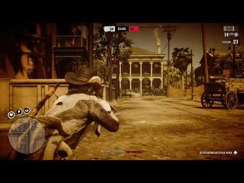 Red Dead Redemption 2/ Practicando En Las Series De Pvp 19/6/ Crew Lobos Solitarios