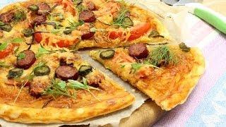 Пицца из слоеного теста - пошаговый рецепт