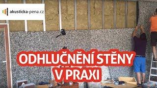 Odhlučnění stěny v bytě a v paneláku