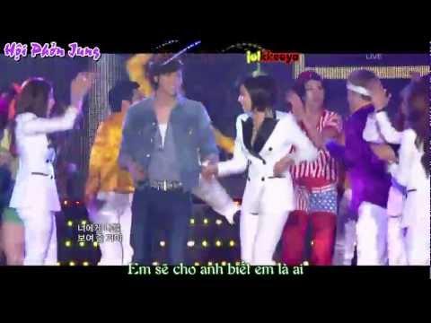[Vietsub+Kara] Roly Poly - T-ara ft Lee Jang Woo @ MBC Gayo Daejun 2011