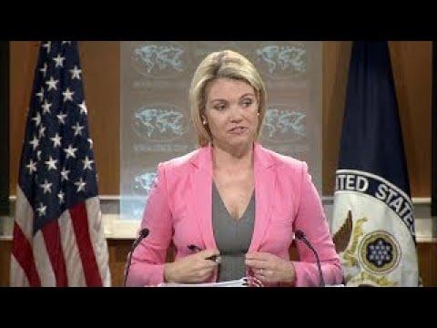 WATCH: US State Department Press Briefing Regarding North Korea threat Kim Jong Un & GUAM