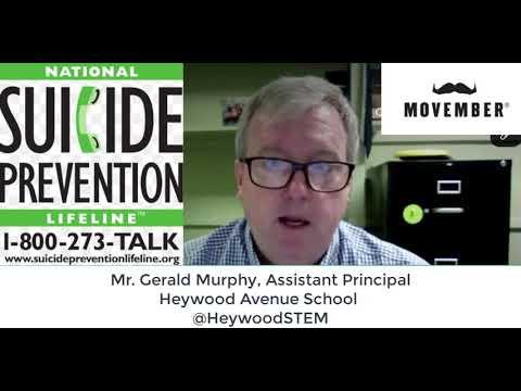 Heywood Avenue School Movember Challenge