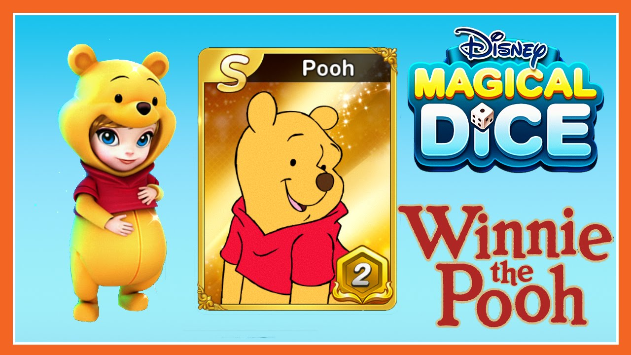 Disney Magical Dice - Winnie The Pooh Update - New Pooh