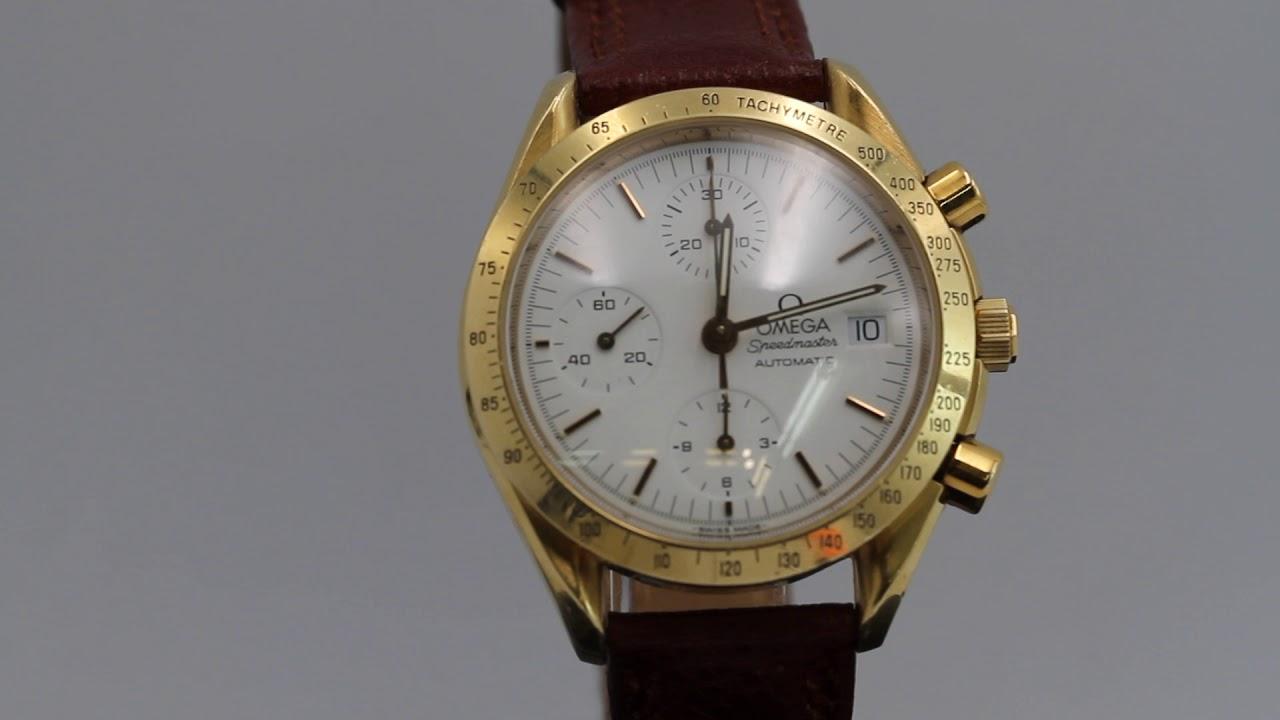 a4c9815d5a67 Reloj Omega Speedmaster Automatic de oro de segunda mano E325872 ...