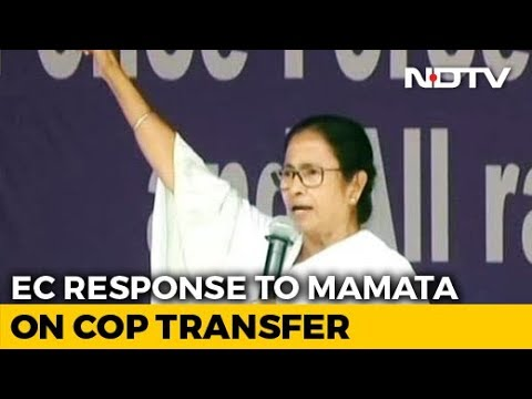 "Mamata Banerjee ""Factually Incorrect"" In Note On Cop Transfers: Poll Body"