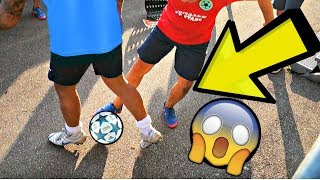Twins NUTMEGS ENTIRE Football Team! ★