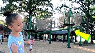 Fun Outdoor Playground for kids and family with Imani's Fun World