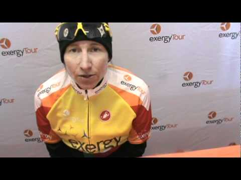 2012 Exergy Tour Stg 2's TT winner, Amber Neben talks about her victory & being new race leader.MPG