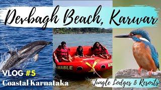 Devbagh Beach Resort | Karwar | Dolphin Watching | Jungle Lodges Resort | Coastal Karnataka VLOG#5