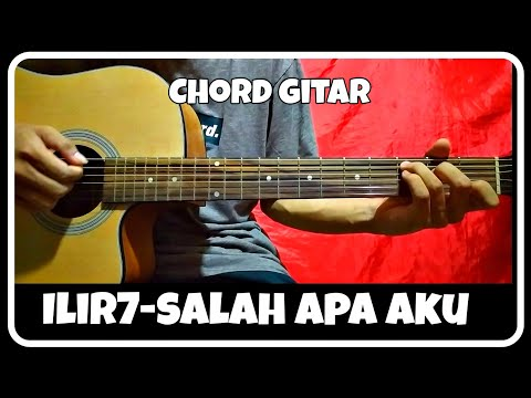 chord-gitar-(salah-apa-aku---ilir7)-pemula