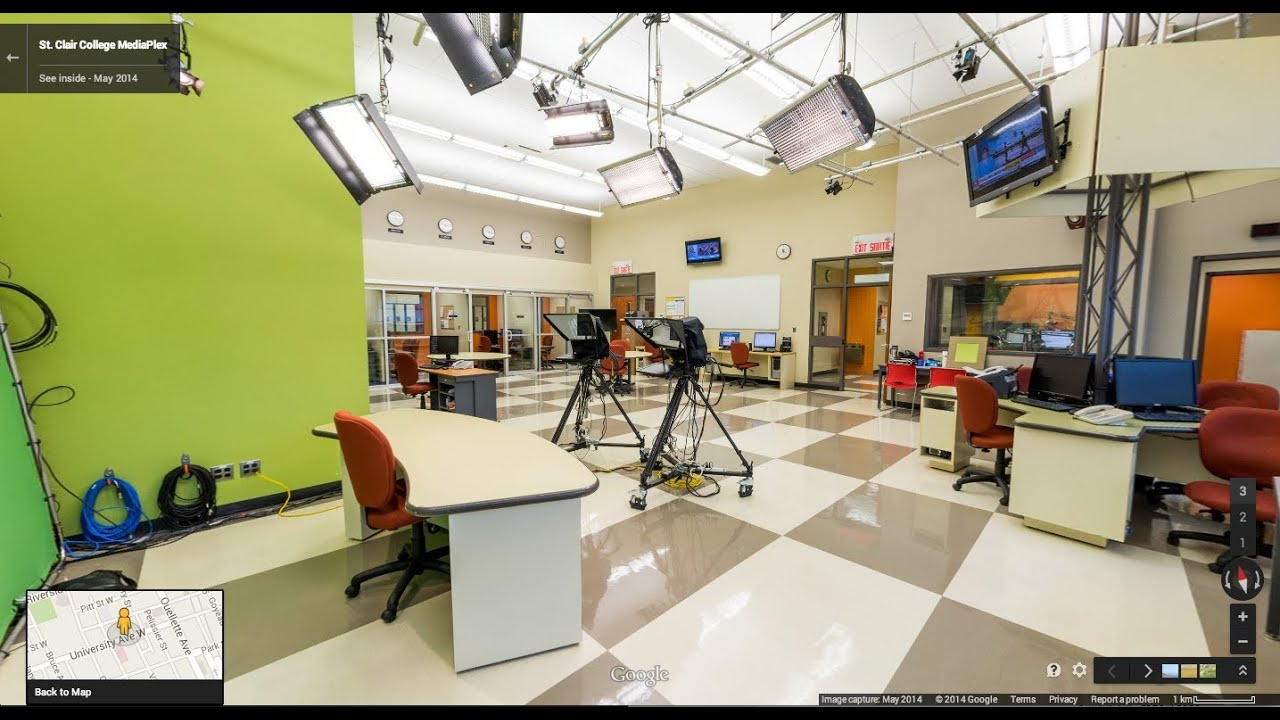 Ordinaire MediaPlex, St Clair College Vitrual Tour   Google Business View By PanoVR