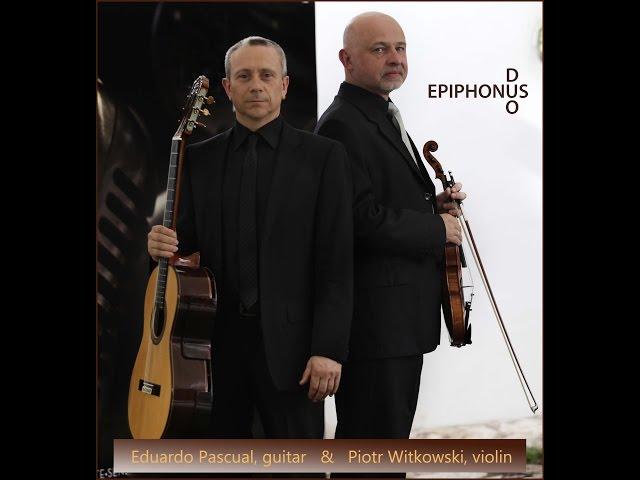 Epiphonus DUO Nicolò Paganini SONATA CONCERTATA Allegro Spititoso