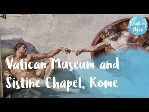 One of the greatest art collections in the world at the VATICAN MUSEUM AND SISTINE CHAPEL