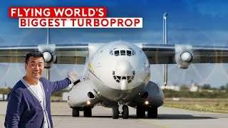 Flying The World's Biggest Turboprop - Antonov An-22