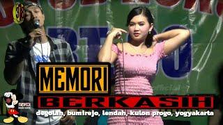 Rindi antika feat BAYU BRAMASTA cover memori berkasih live degolan kulon progo Yogyakarta