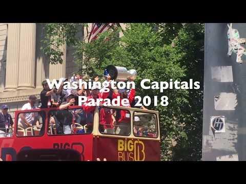 WASHINGTON CAPITALS STANLEY CUP PARADE MONTAGE 2018***