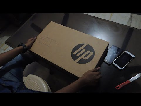 HP Notebook Unboxing + Small Review Best Budget Laptop [English/Hindi]