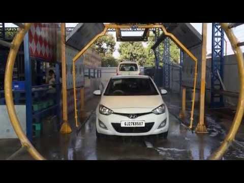 Eco Wash - Robotic High Pressure Car Washer (Nissan Clean India's Workshop DEMO)