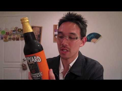 Beer Blog 56 - (Shipyard Brewing:  Smashed Pumpkin)