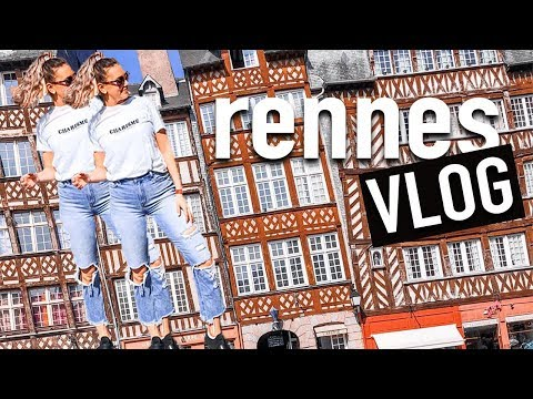 France Travel VLOG: Rennes France (Brittany, France)