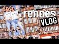 France Travel VLOG: Rennes France (Brittany, France)