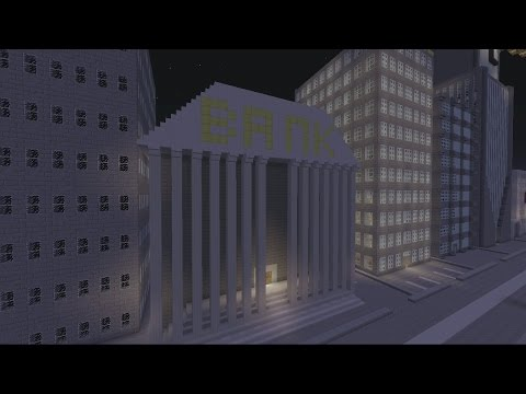 Minecraft Gotham City: Bank