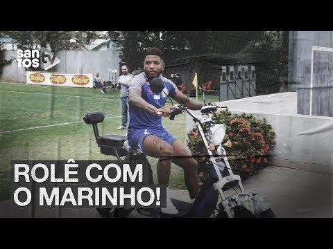 MARINHO DÁ ROLÊ DE MOTO ELÉTRICA PELO CT