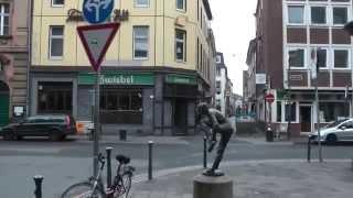 Город Дюссельдорф, Германия, Европа(Дюссельдорф — модный и, пожалуй, самый утонченный город Германии. Еще сам Наполеон восторгался этим удивит..., 2014-03-03T19:11:25.000Z)