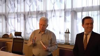 Dichter van de regio bij burgemeester van Rijswijk